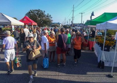 Photos of the Bethany Beach Farmers Market on July 28