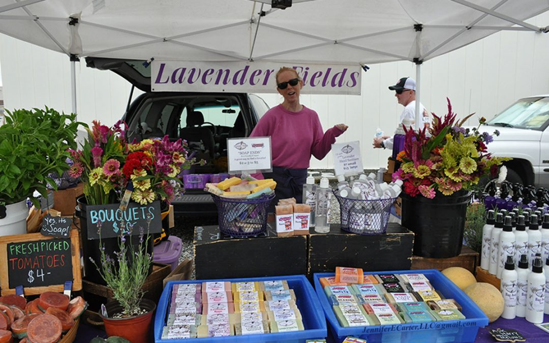 Market was bookended Sunday with rain
